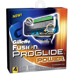 G. fusion proglide power 4шт