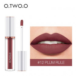 Матовый блеск O.TWO.O Matte liquid lipstick №12 (1009)