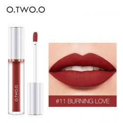 Матовый блеск O.TWO.O Matte liquid lipstick №11 (1009)
