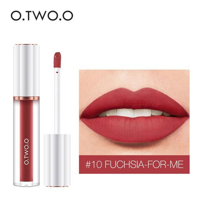 Матовый блеск O.TWO.O Matte liquid lipstick №10 (1009)