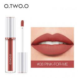Матовый блеск O.TWO.O Matte liquid lipstick №08 (1009)