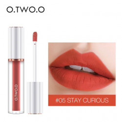 Матовый блеск O.TWO.O Matte liquid lipstick №05 (1009)