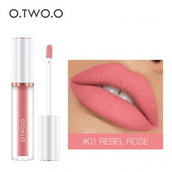 Матовый блеск O.TWO.O Matte liquid lipstick №01 (1009)