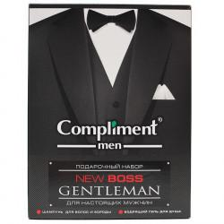 Подарочный набор Compliment new Boss Gentleman (Шампунь 250мл+ Гель для душа 250мл)
