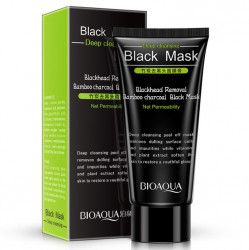 BIOAQUA Blackhead Removal Bamboo Charcoal Black Face Mask Deep Cleaning 60g