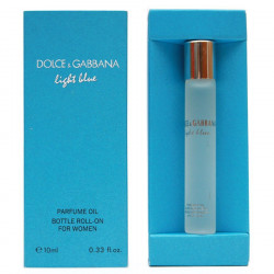 Парфюмерное масло Dolce Gabbana Light Blue for women 10 ml