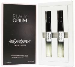 Подарочный набор 2х15 Yves Saint Laurent Black Opium eau de parfum for women