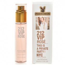 45ml NEW CH 212 VIP Rose