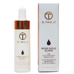 Масло для лица O.TWO.O Rose Gold Elixir 24k Gold Infused Beauty Oil 15мл (9116)