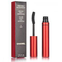 Тушь Chanel Inimitable waterproof mascara multi-dimensionnel 10g (Red)