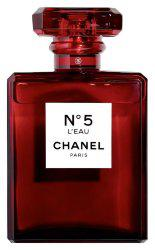 Chanel No5 L Eau Red Edition for women 100 ml