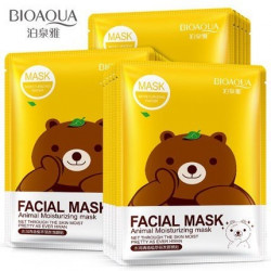 Маска с эссенцией зеленого чая Fasial Animal Mask (30г.) BioAqua арт. 8487