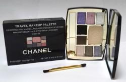 Тени с пудрой Chanel Travel Makeup Palette 33 гр.