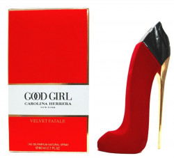 "Carolina Herrera "" Good Girl "" VELVET FATALE 80ml RED"